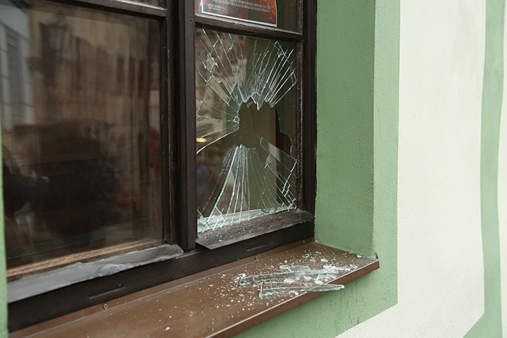 A2B Glass are able to board up broken windows while they are being repaired in Kingston Upon Thames.
